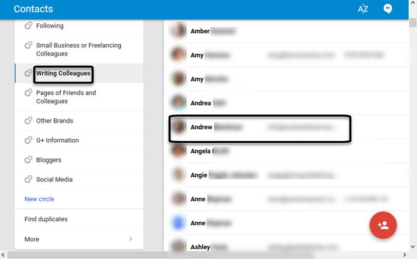 Import your Google contacts into Gmail