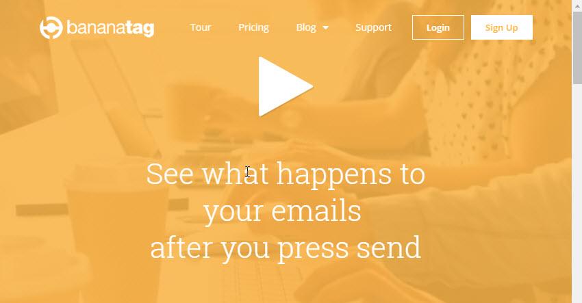 Bananatag Gmail Plugin for Email Tracking