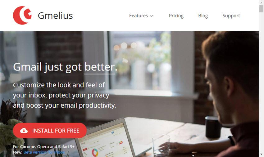 Gmelius Chrome Gmail security plugin