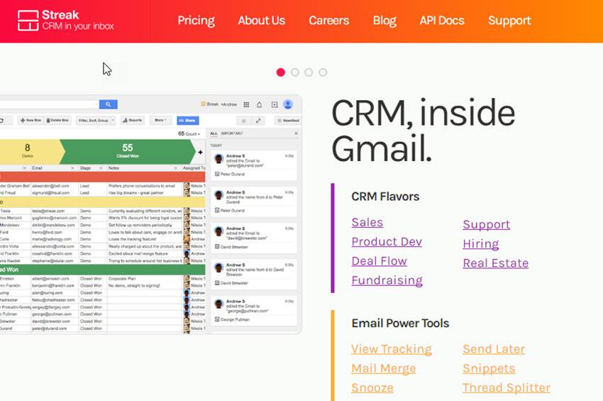 Streak Gmail Add-on