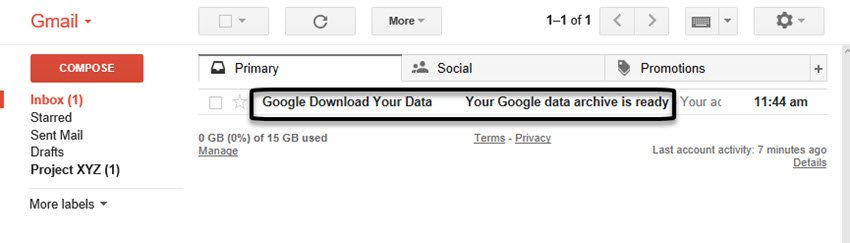 Downloaded data