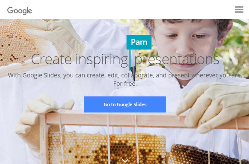 Professional Presentation Software - Google Slides
