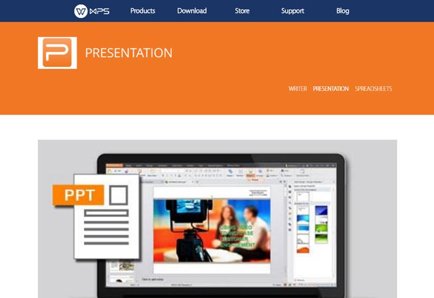 Professional Presentation Software - WPS Presentation
