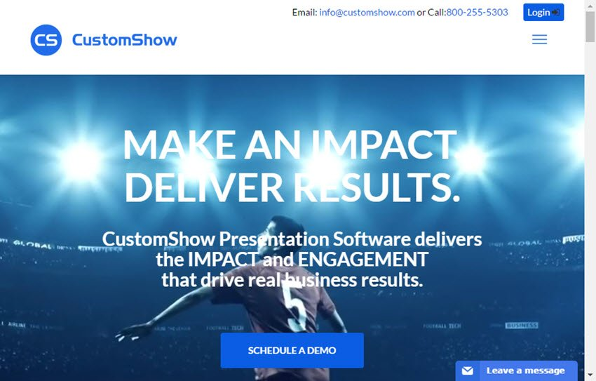 Professional Presentation Software - CustomShow