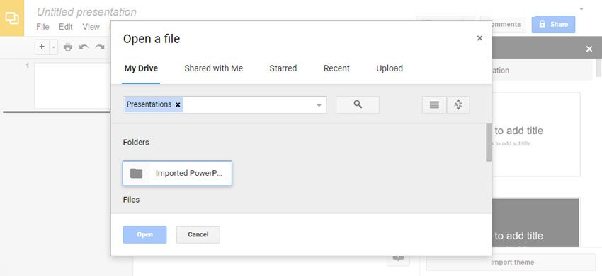 Open a File Dialog Box