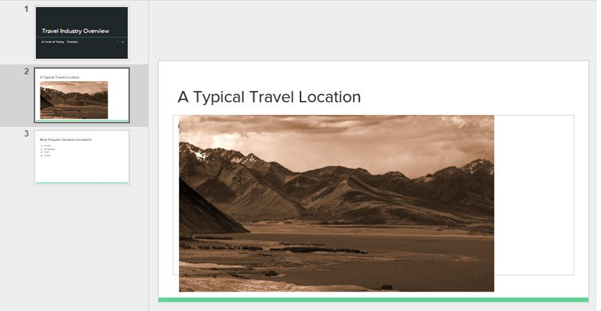 Google Drive Slides Recolored Image