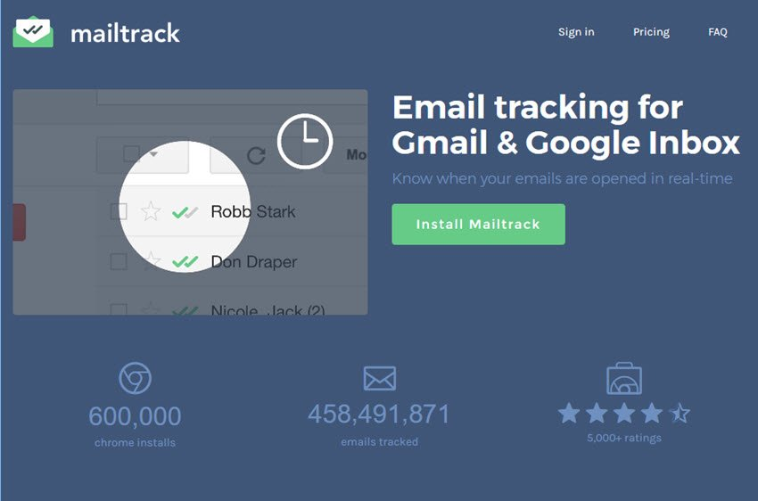 MailTrack Email Tracking