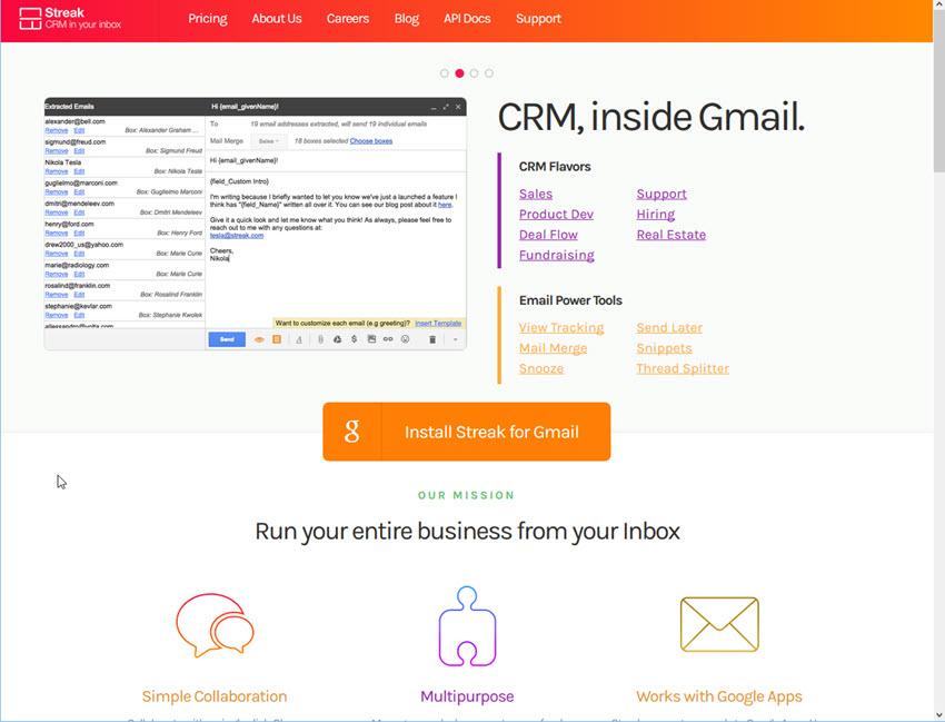 Streak Email Tracking