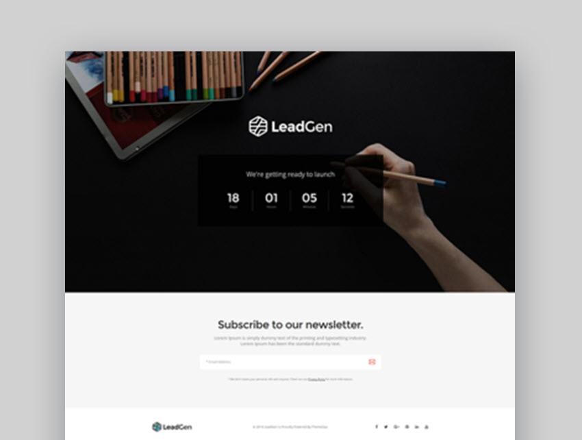 LeadGen Versatile Landing Page Template