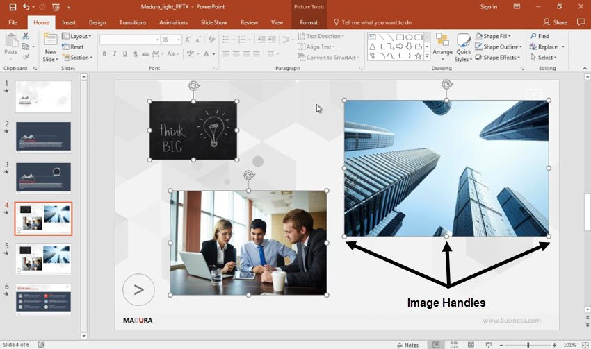 How to Resize Images In PowerPoint