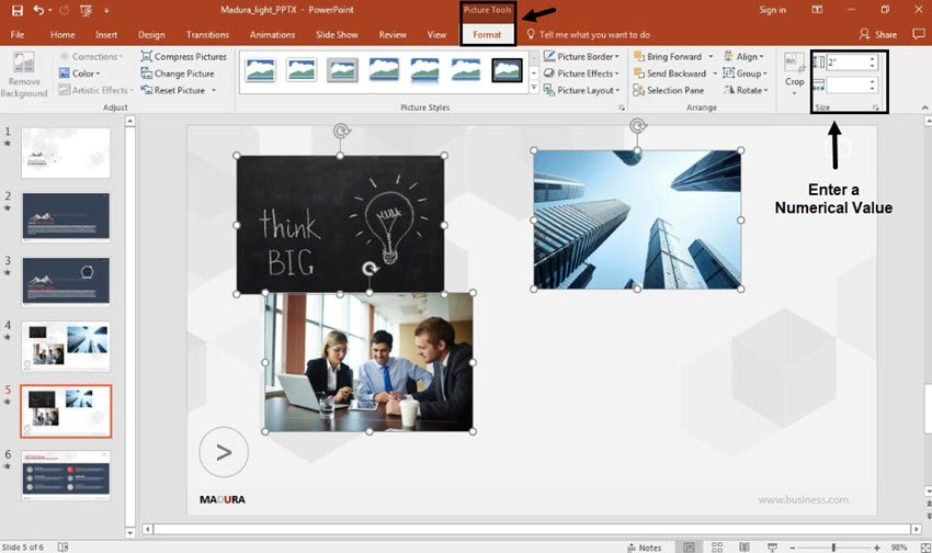 PowerPoint Image Size