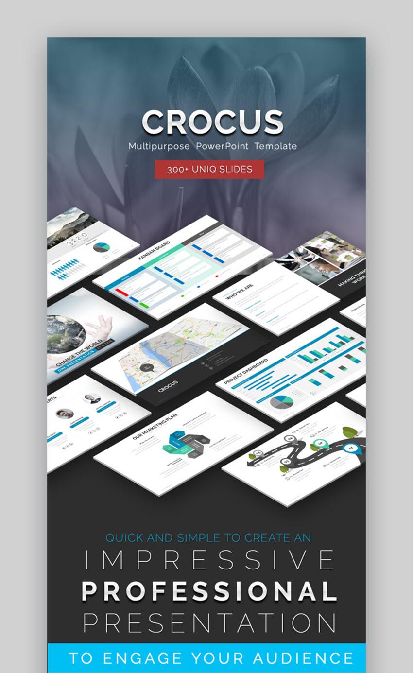 Crocus Multipurpose PowerPoint Template
