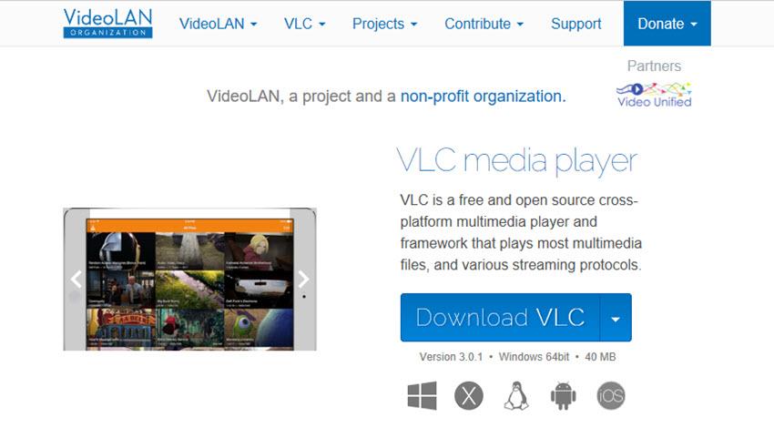 VLC Mac software