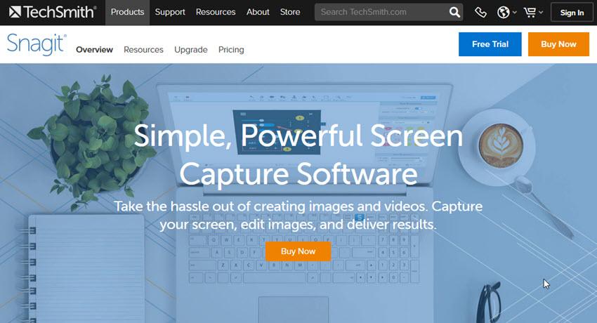 Snagit Screen Capture Software