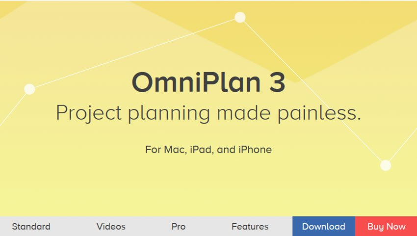 OmniPlan 3 Project Management Software