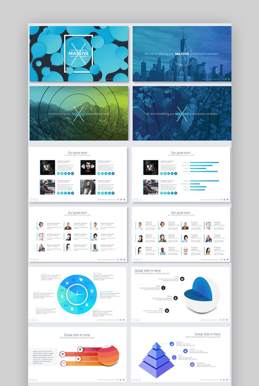 Massive X Presentation Template