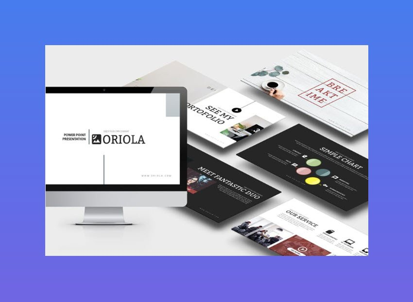 Oriola Business PowerPoint Template