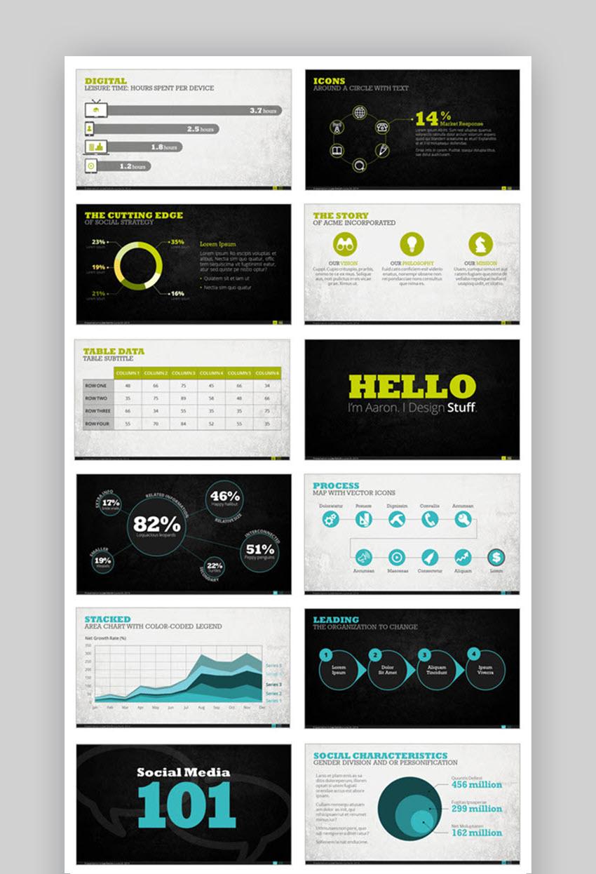Premium Digital Presentation Template