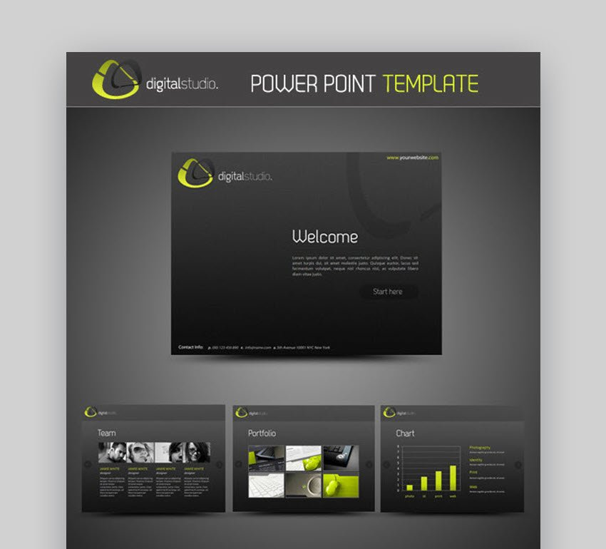 Digital Studio PowerPoint Presentation