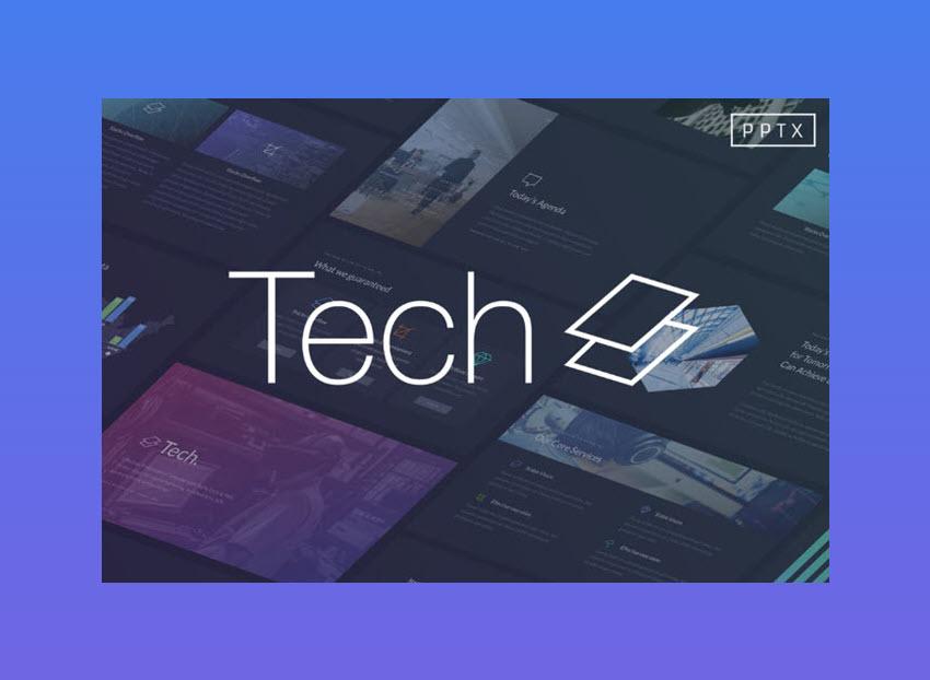 technology PowerPoint template