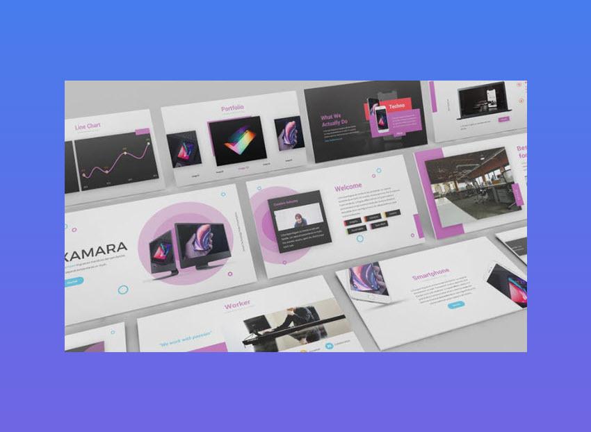 XAMARA Technology PowerPoint Template