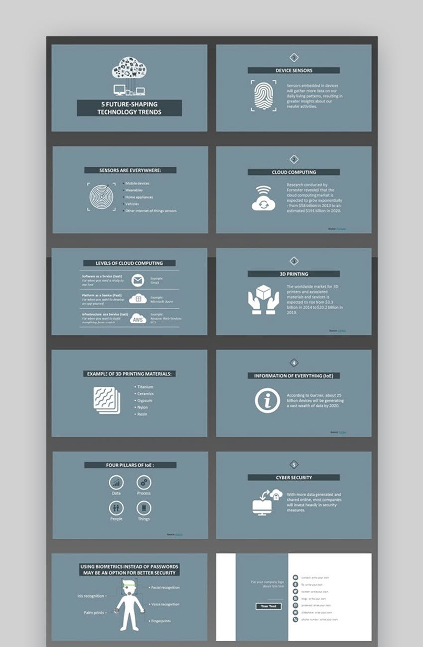 Technology Trends PowerPoint Template