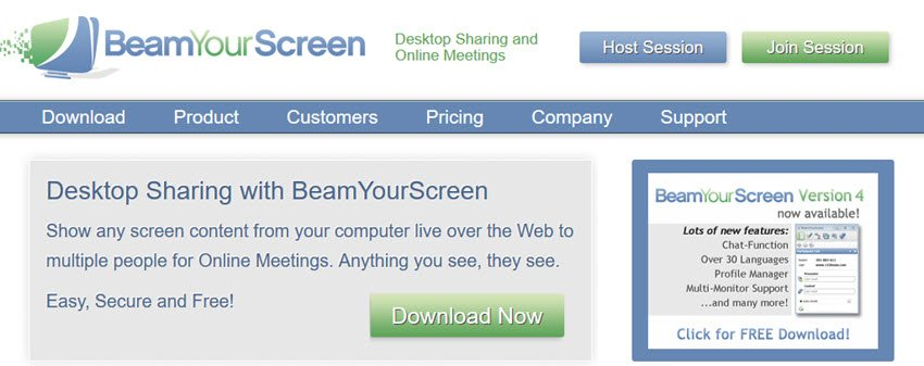 BeamYourScreen