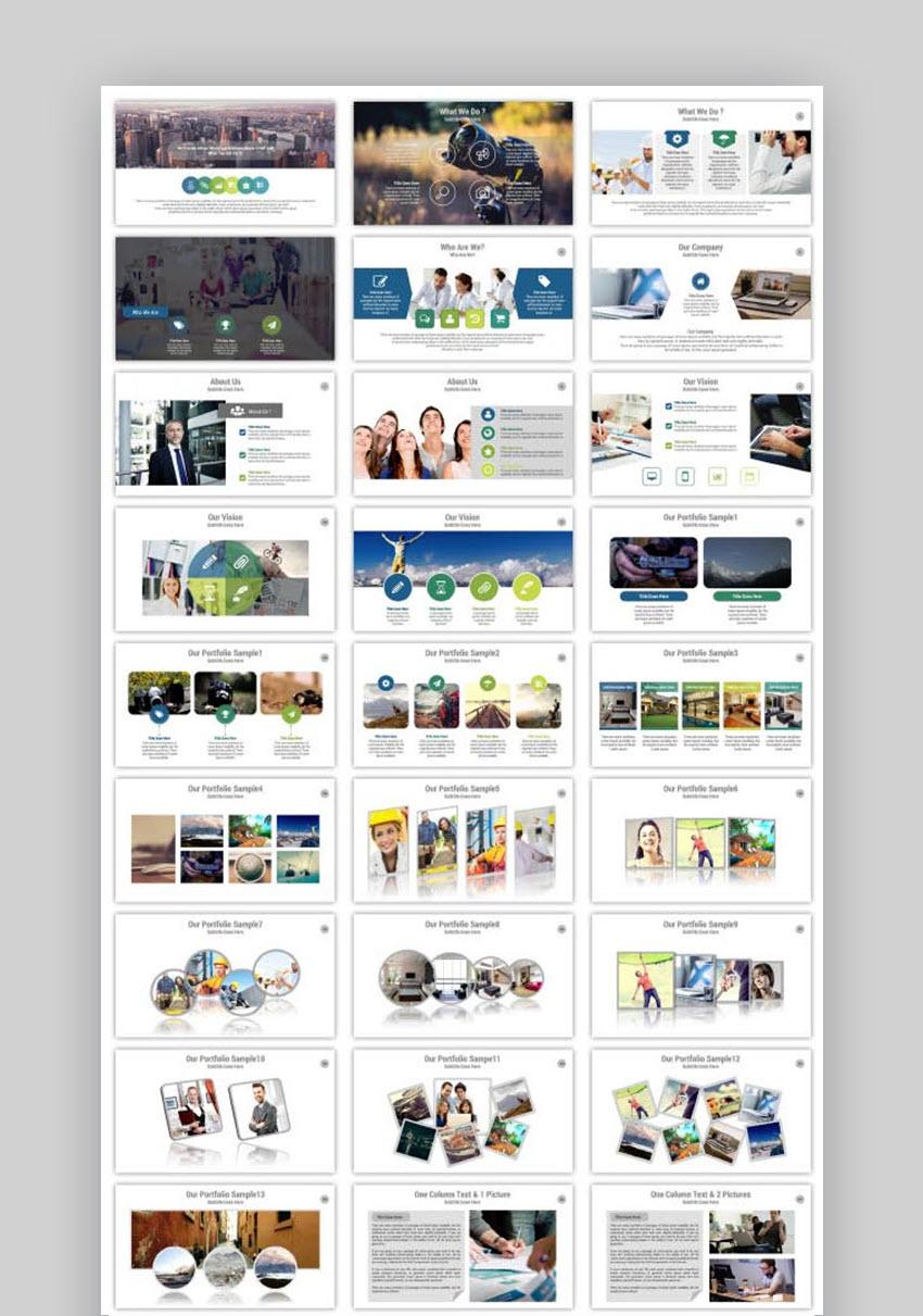 PRO Multipurpose PowerPoint Presentation Template