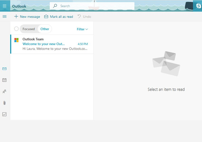 outlookcom email inbox