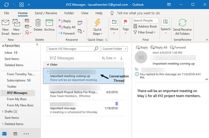 how to use the clean up tool to delete messages in outlook