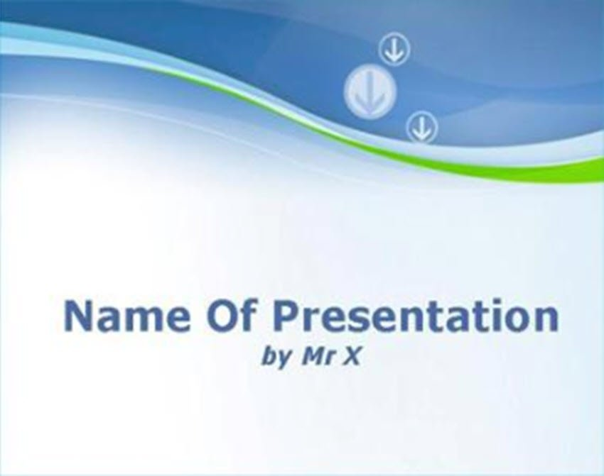 background PPT