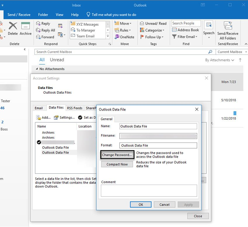 Outlook tip secure your email