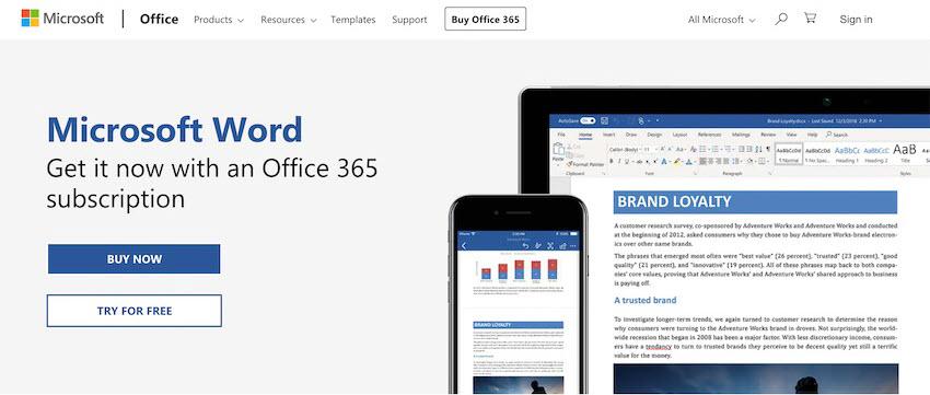 Microsoft Word PDF editor