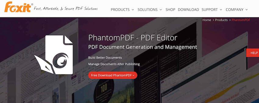 PhantomPDF PDF Editor