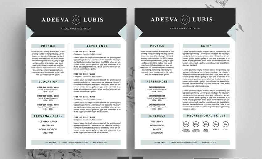 good resume example