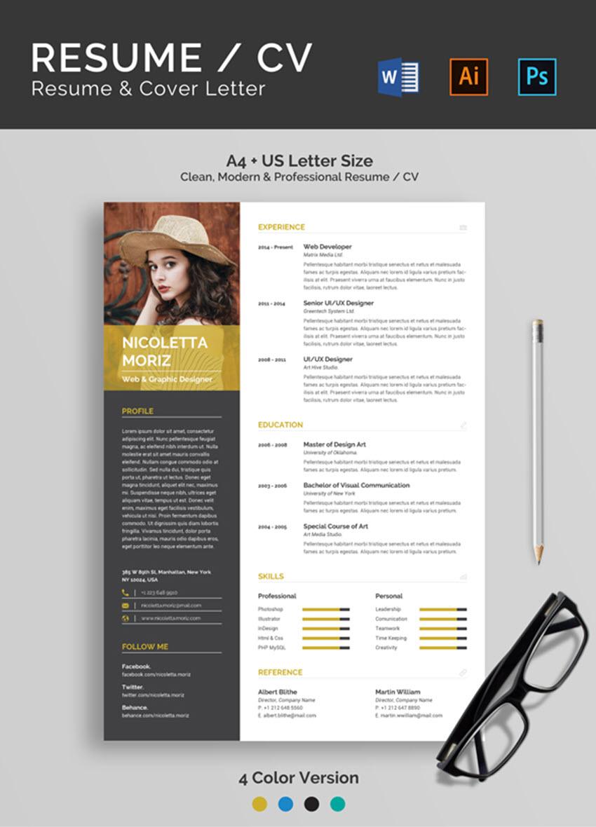 ResumeCV Resume Cover Letter