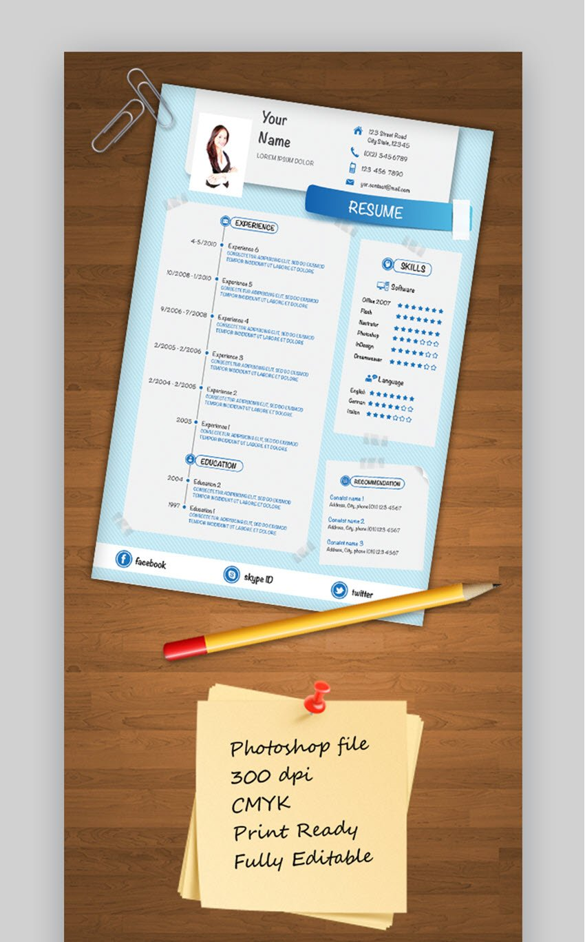 Creative Resume - Cool Visual Resume