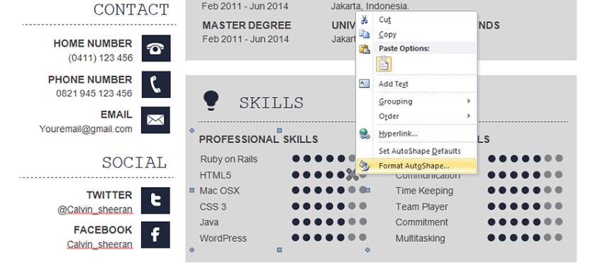 Levels-of-proficiency-resume