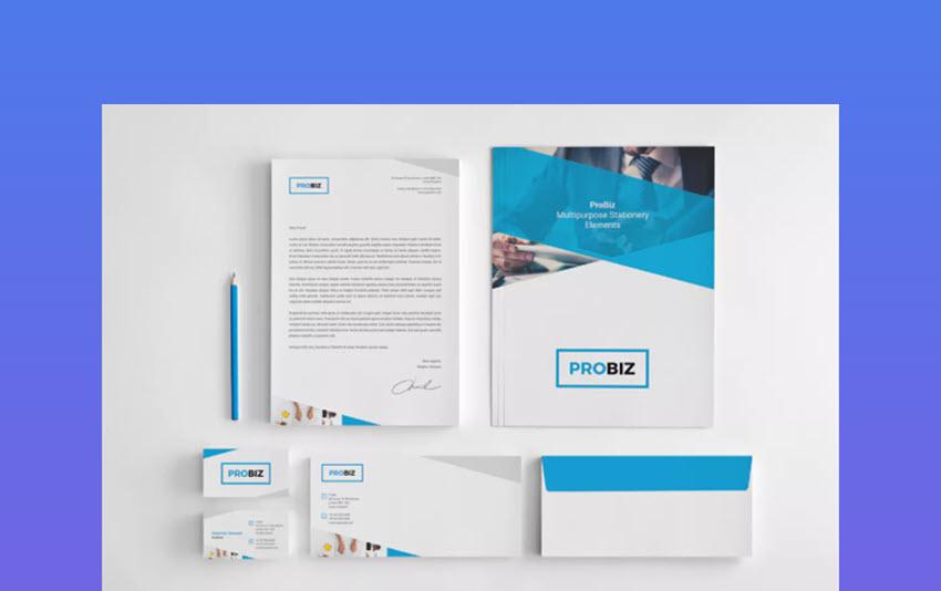 ProBiz  Business Stationery letterhead