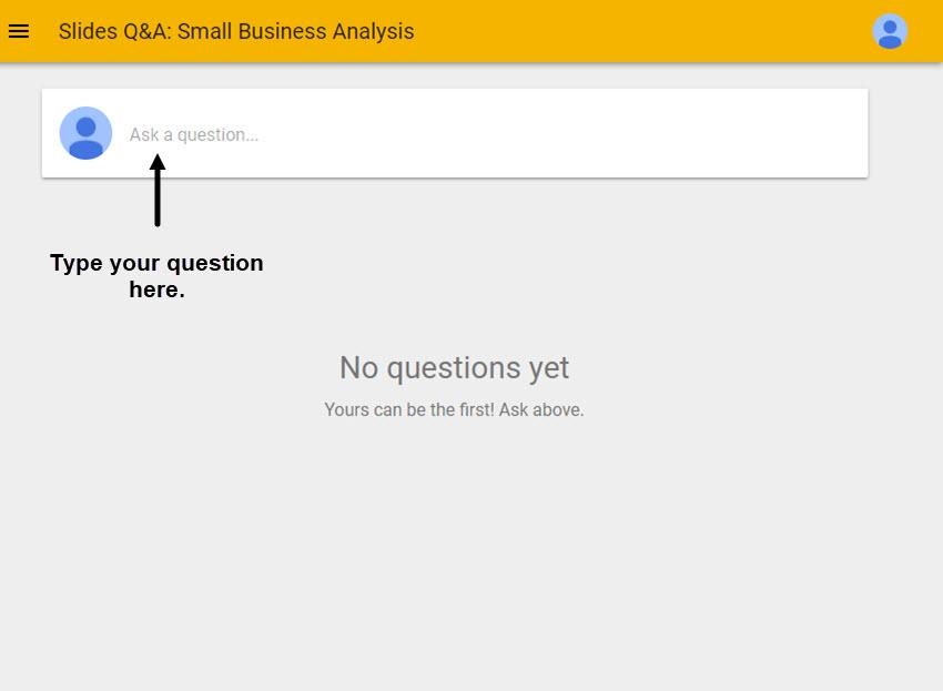 Google Slides QA Prompt