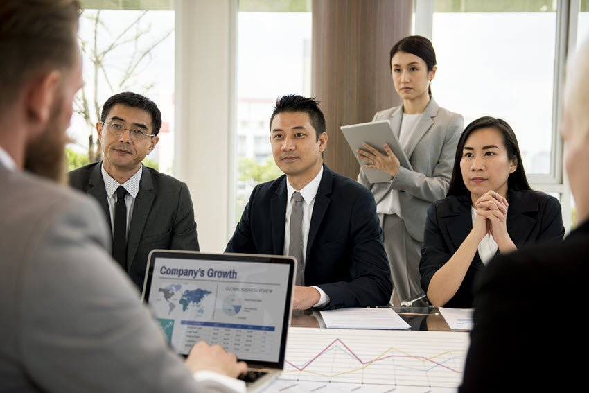 Business Presentation Medium