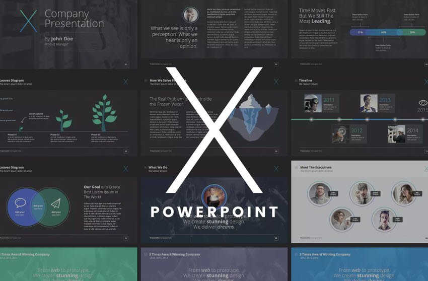 X-Note PowerPoint Template