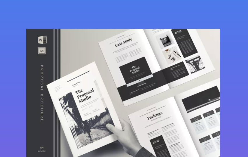 Classic MS Word Business Proposal Template