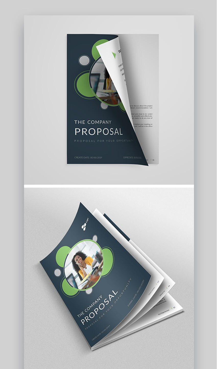 Proposal - asombrosa plantilla de propuesta profesional