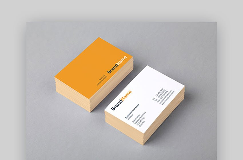 Business Cards Mock-Ups Template