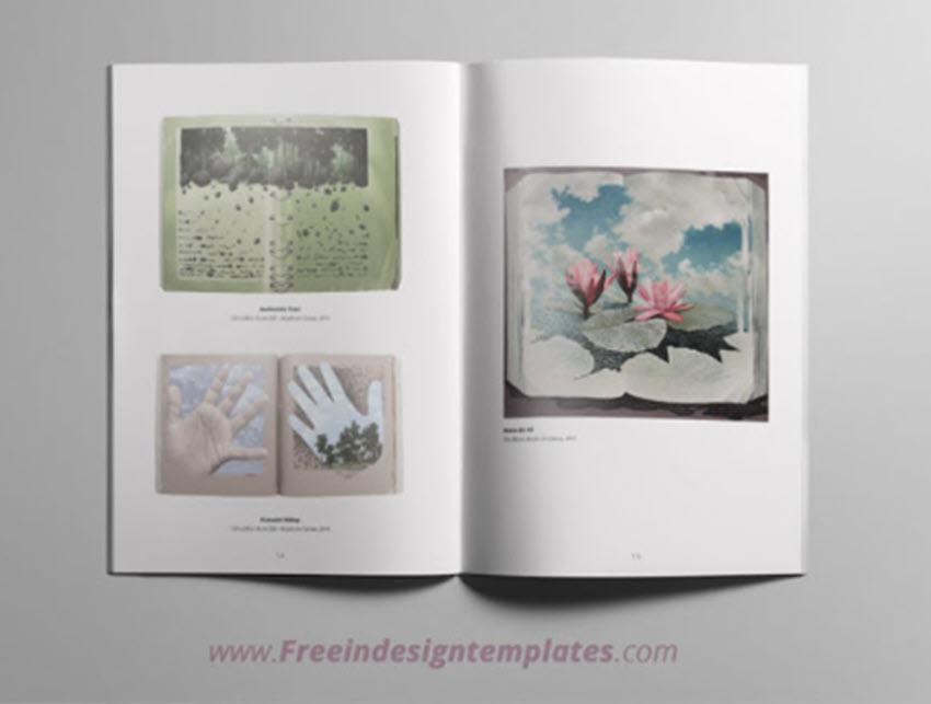 Minimal Free Catalogue Template