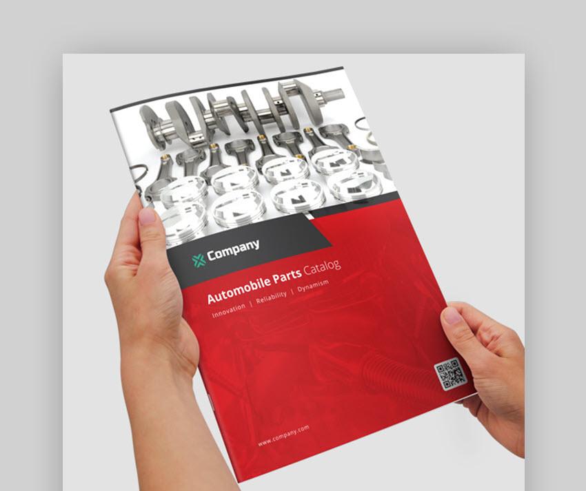Car Part Product Catalog - Automobile Brochure