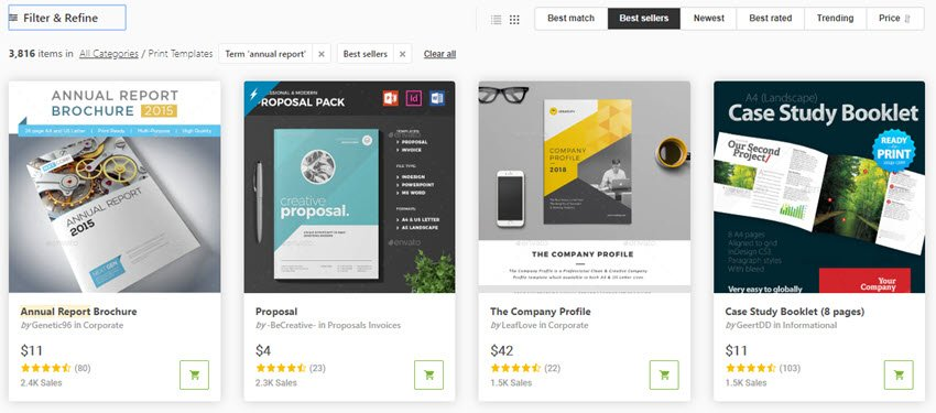 Best-Selling Nonprofit Annual Report Templates