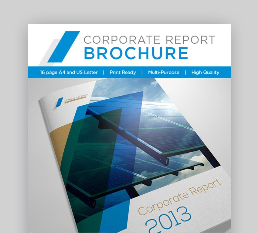 Corporate Report Brochure