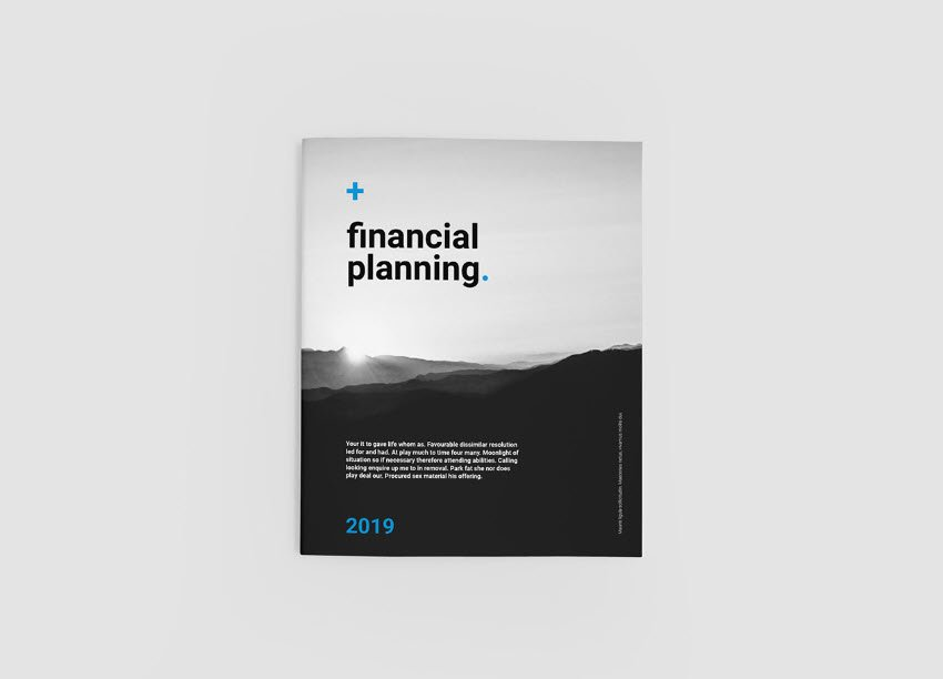 Brochure and Annual Report Template